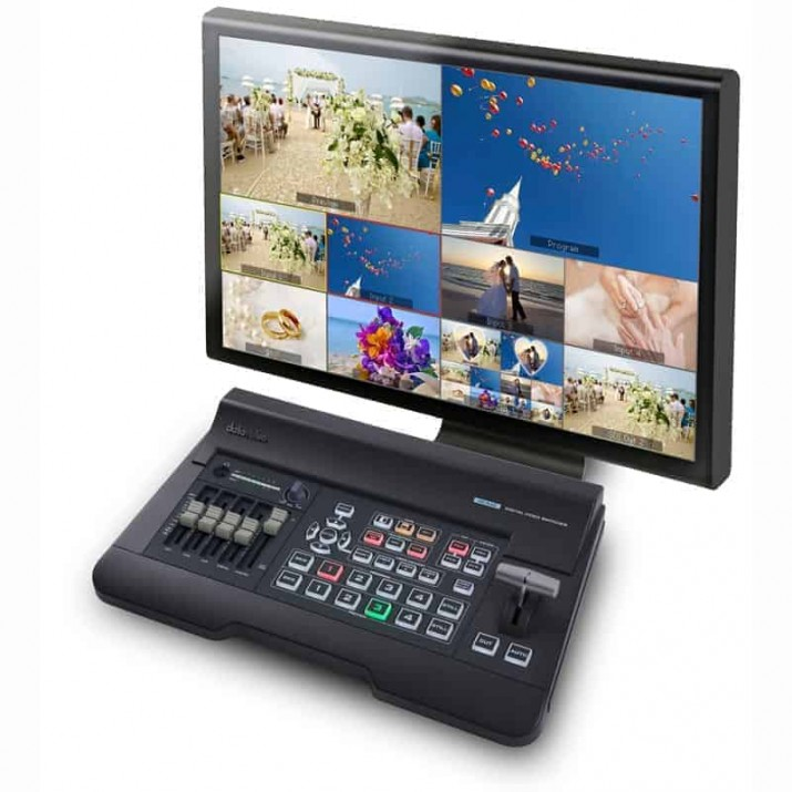 The Datavideo SE-650 is a small, costeffective, professional HD digital video switcher. It offers two HD-SDI and two HDMI inputs that support video formats up-to 1080i. ... The SE-650 also features an audio mixer with microphone and unbalanced RCA audio inputs. Combining a four-channel HD video switcher and a 6-channel audio mixer, the Datavideo SE-650 is an all-in-one solution for live video production. Video and ...