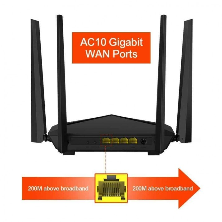 Tenda AC10 leads the way in next generation routers, offering dual-band Gigabit wireless with all-new 802.11ac Wave 2.0 Wi-Fi. Its powerful 1GHz CPU, Check out Tenda AC10 1200Mbps Wireless WiFi Router (Black) reviews, ratings, features, specifications and browse more Tenda products online at best prices, We recently received for testing their Tenda AC10 - an AC1200 wireless router with support for modern wireless networking standards. ... If you want to know whether to buy the Tenda AC10 wireless router, read this review: NOTE: We received the Tenda AC10 wireless router for testing Very Low & Best Price Only On Kartm kartnp satyamfilm satyamfilms