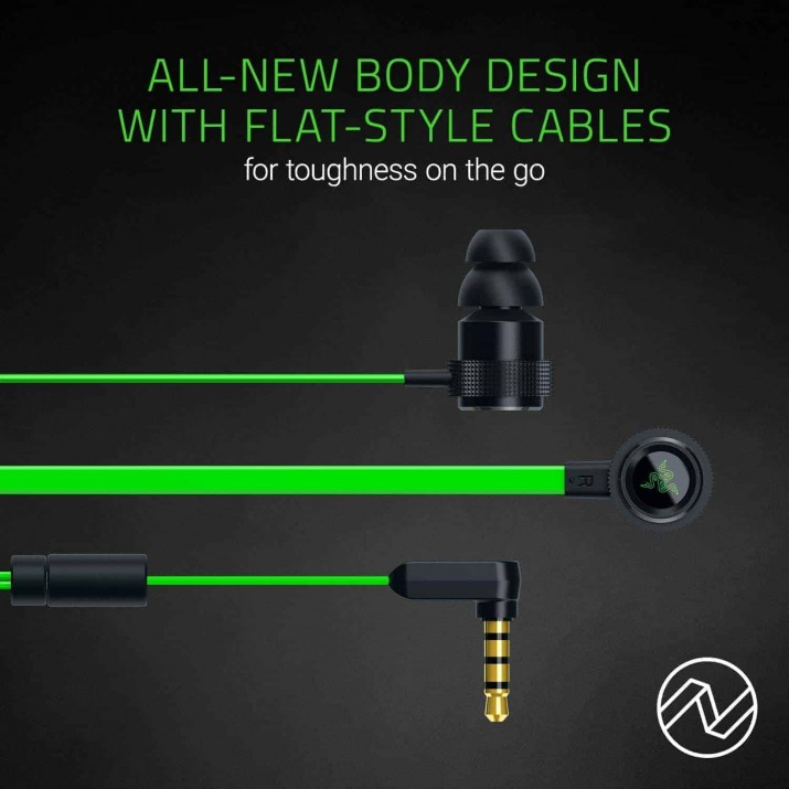Razer Hammerhead V2 – Analog Gaming & Music In-Ear Headphones