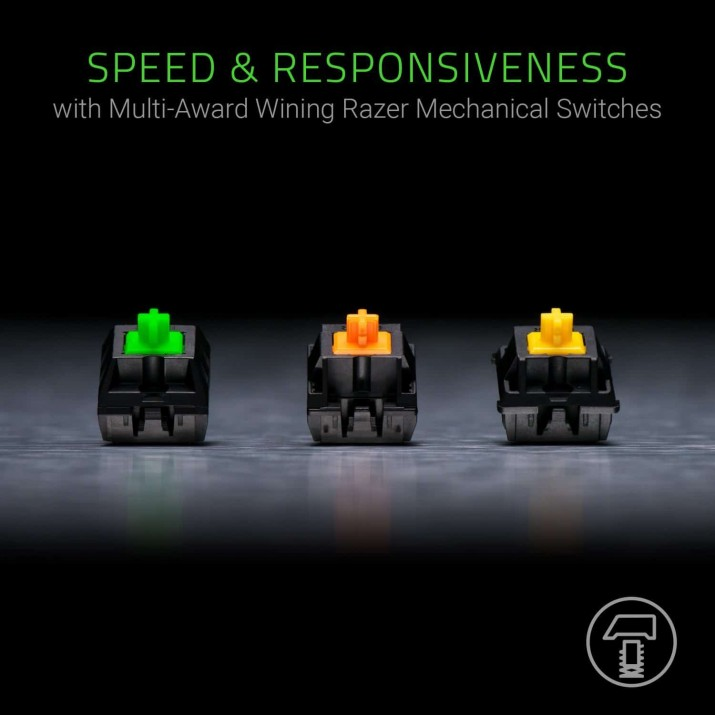 Razer BlackWidow Chroma V2 - Mechanical Gaming Keyboard - US Layout