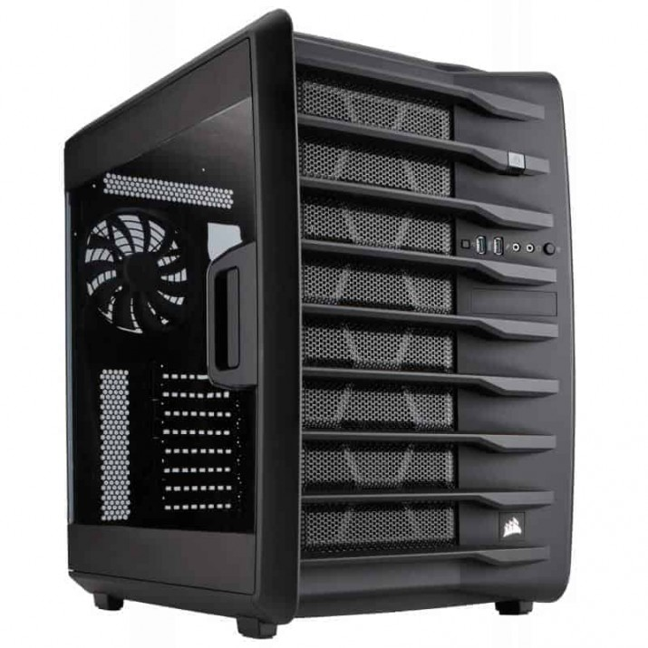 The Carbide Series™ Air 740 is designed with dual chambers to deliver cooler air to your CPU and graphics cards without your drives or power supply getting, Buy CORSAIR CARBIDE AIR 740 ATX Cube Case, High-Airflow online at low price in India, Kartmy Kartnp satyamfilm Satyamfilms
