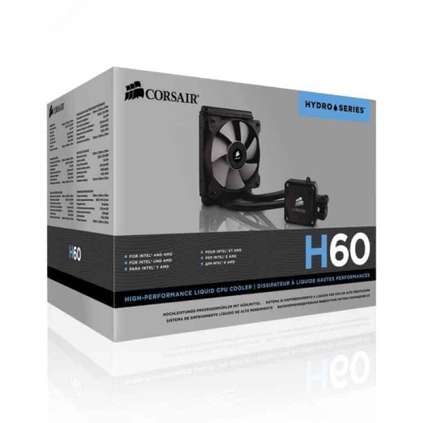 The Hydro Series™ H60's second-generation design offers powerful, efficient CPU cooling. The redesigned fan and low-profile radiator help H60 excel, There is a newer version of this item: Corsair Hydro Series H60 120mm Radiator Single PWM Fan Liquid CPU Cooler Lowest Price Only On Kartmy Kartnp Satyamfilm SatyamFilms