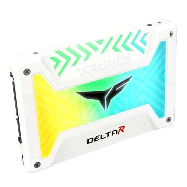 Teamgroup T-Force DELTA R RGB SSD (Rainbow) 500GB