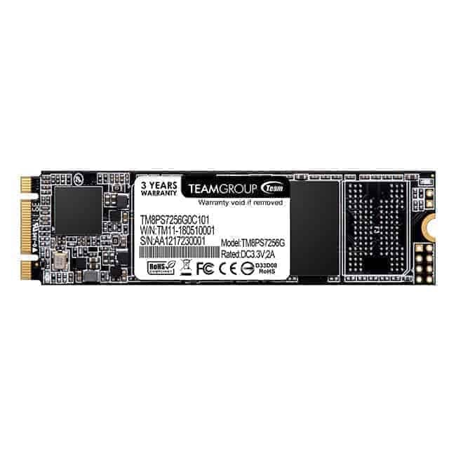 Teamgroup MS30 M.2 SATA SSD 256GB