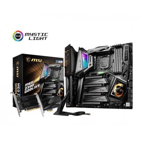 MSI Mainboard MEG Z390 GODLIKE Motherboard