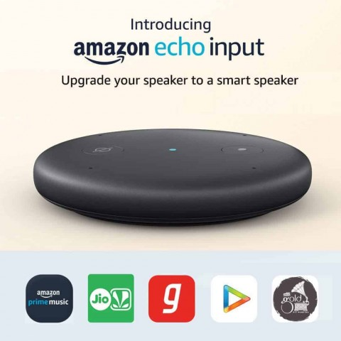 Amazon Echo Input - Upgrade your speaker to a smart speaker
