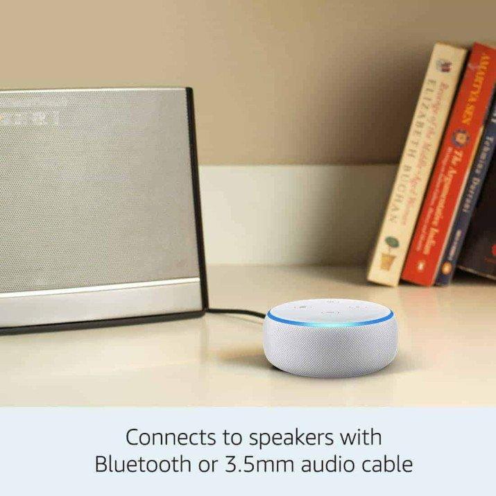 Amazon Echo Dot (3rd Gen) - Smart speaker with Alexa - Grey