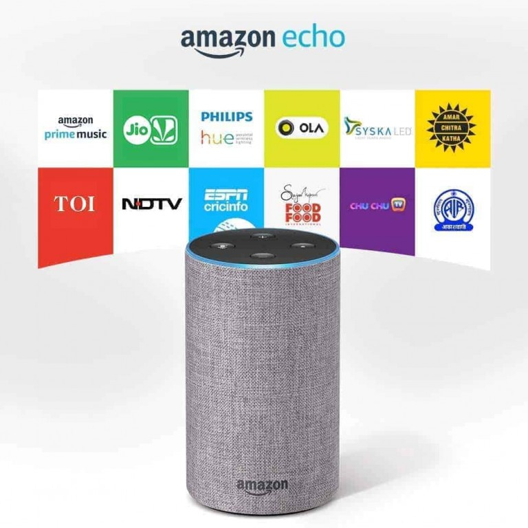 Amazon Echo - Smart speaker with Alexa | Powered by Dolby – Grey