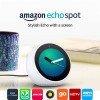 Amazon Echo Spot – Smart Alarm Clock with Alexa - White