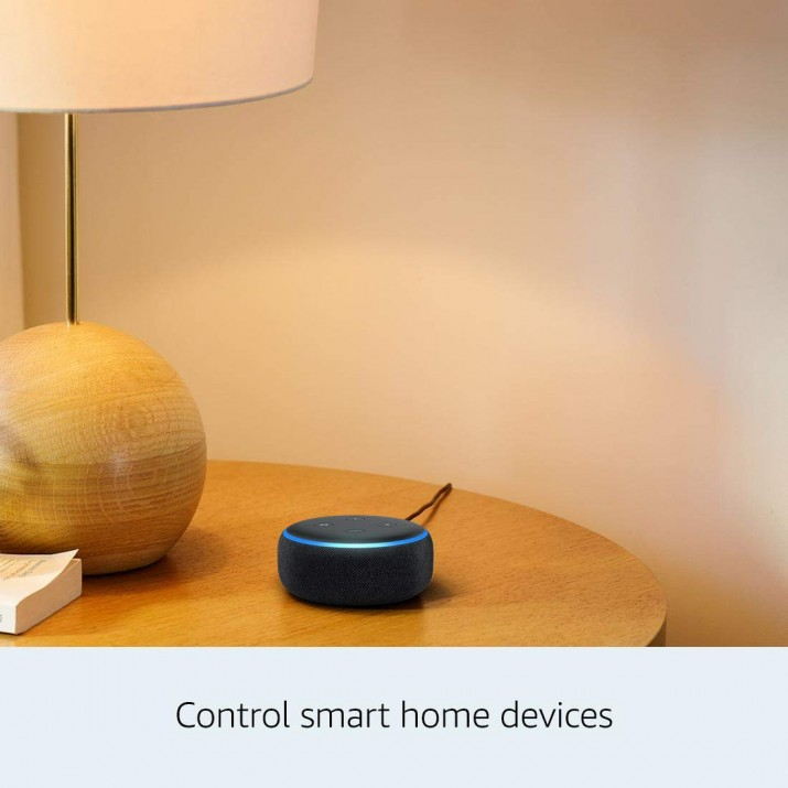 Amazon Echo Dot (3rd Gen) - Smart speaker with Alexa - Black