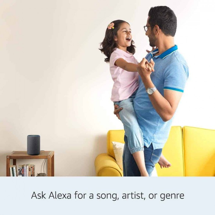 Amazon All-new Echo Plus (2nd gen) – Premium sound with a built-in smart home hub-Black