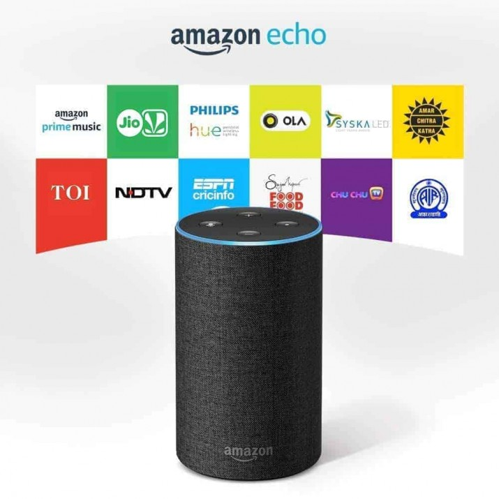 Amazon Echo - Smart speaker with Alexa | Powered by Dolby – Black
