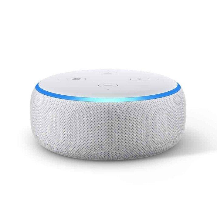 Amazon Echo Dot (3rd Gen) - Smart speaker with Alexa - White