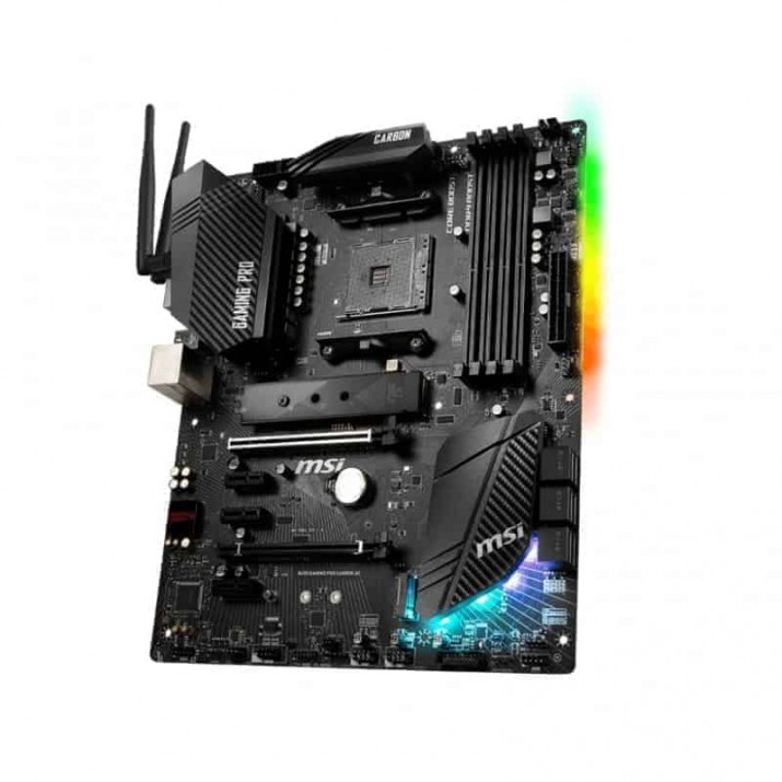 MSI B450 GAMING PRO CARBON AC Socket AM4 ATX AMD B450