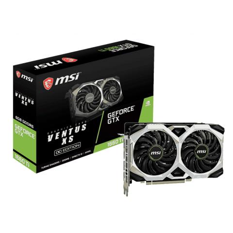 MSI GeForce GTX 1660 TI Ventus XS OC 6GB GDDR6
