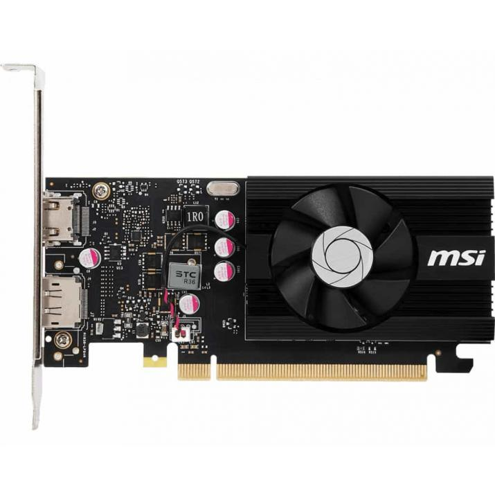 MSI GeForce GT 1030 2GB DDR4 LP OC GRAPHICS CARD