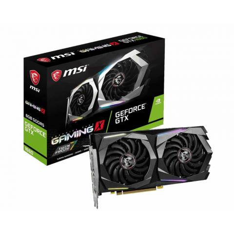 MSI Nvidia Gaming GeForce GTX 1660 Gaming X 6G GDDR5 Graphic Card