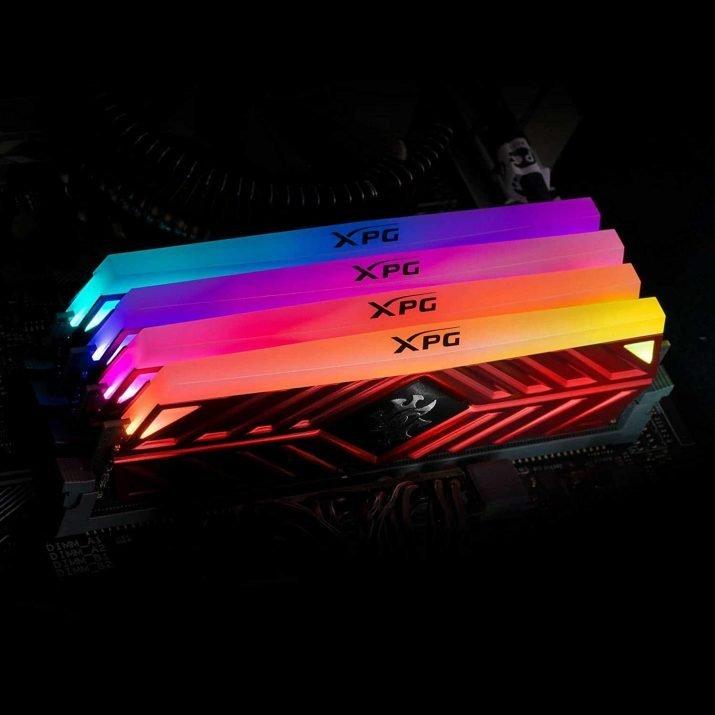 Adata XPG Spectrix AX4U300038G16-DR41 8GB 3000MHz D41 RGB U-DIMM Memory (Pack of 2)