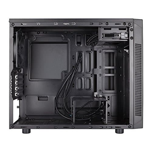 Corsair Carbide Series 88R Elegant Professional Design - MicroATX Mid-Tower Case with Window Panel (No Power Supply) - CC-9011086-WW