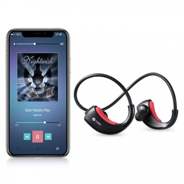 Zoook Rocker Sprinter Sports Headphones (Black)