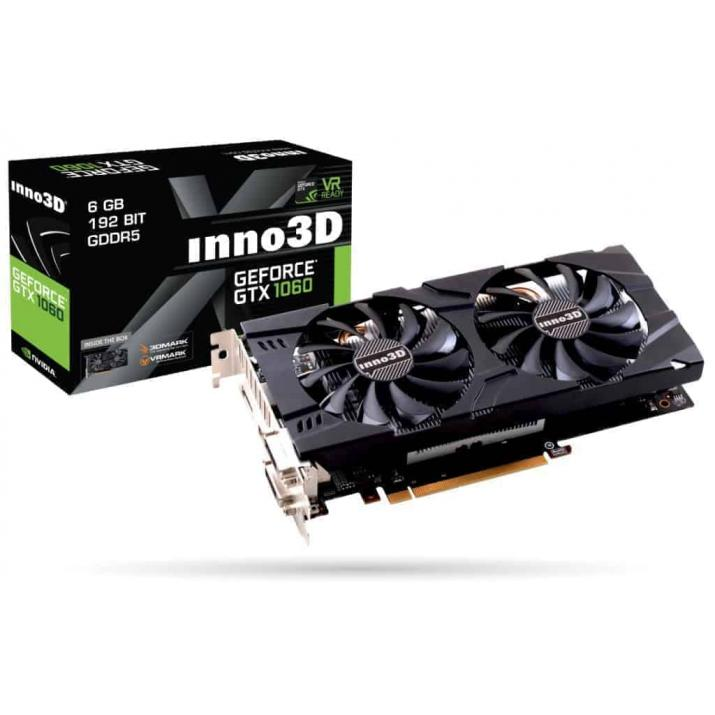 Inno3D Nvidia Gaming Gtx1060 6Gb Twin X2 Graphic Card