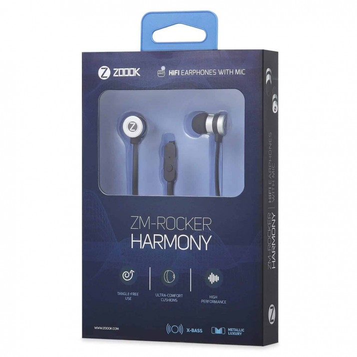 Zoook Rocker Harmony Ultra Balanced Earphones with Mic