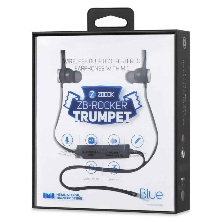 Zoook Rocker Trumpet Well Balanced Bluetooth Earphone with Magnet