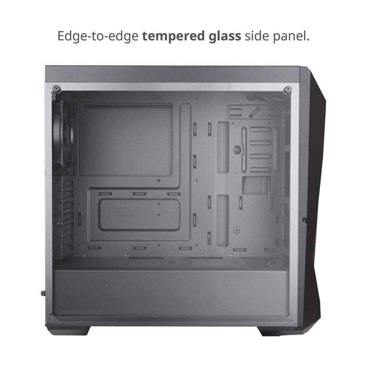 Cooler Master MasterBox K500, ATX, Micro-ATX, Mini-ITX Motherboard Support