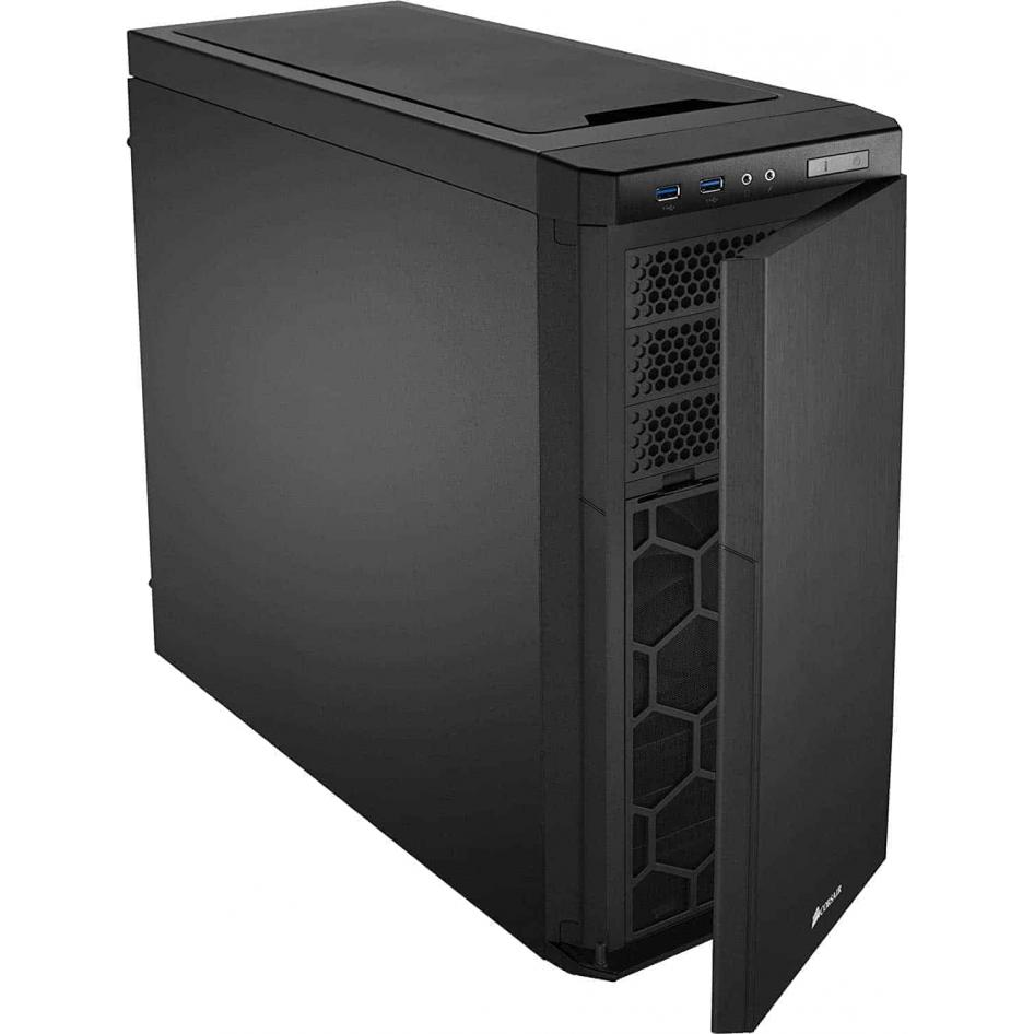 CORSAIR CARBIDE 330R Mid-Tower Case - Blackout Edition (CC-9011076-WW)