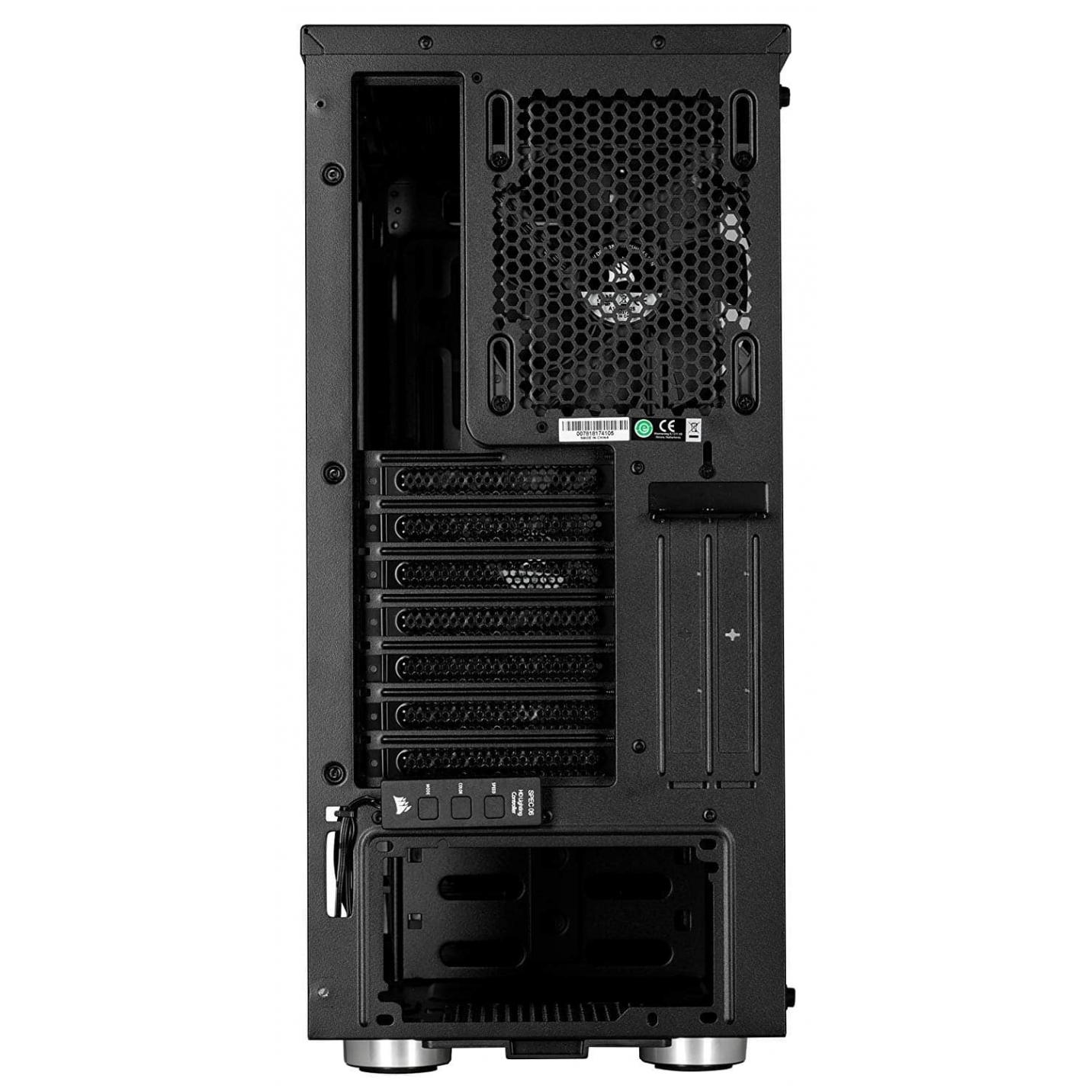 CORSAIR Carbide SPEC-06 RGB Mid-Tower Gaming Case, Tempered Glass