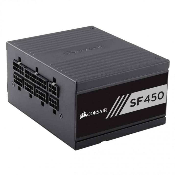Corsair SF Series™ SF450 — 450 Watt 80 PLUS® Gold Certified High Performance SFX PSU (UK)