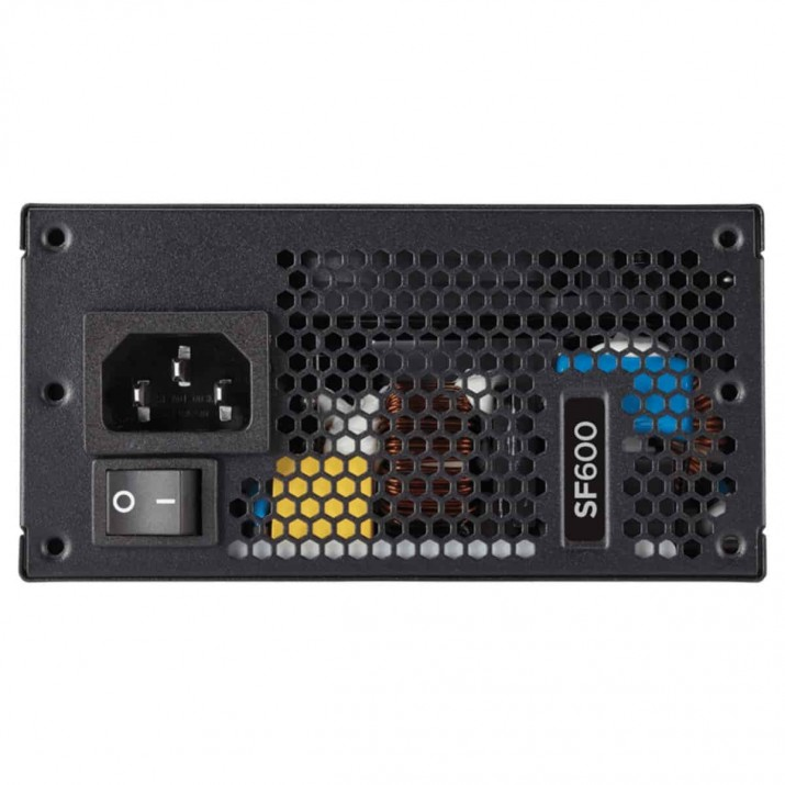 Corsair SF Series™ SF600 — 600 Watt 80 PLUS® Gold Certified High Performance SFX PSU (UK)