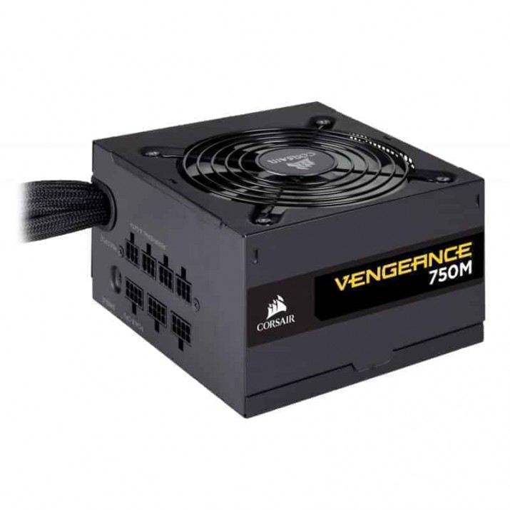 CORSAIR VENGEANCE SERIES 750M - 750 WATT 80 PLUS SILVER CERTIFIED PSU