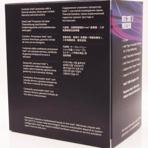 Intel® Core™ I7-8700 Desktop Processor