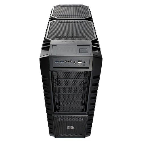 Cooler Master HAF X - Full Tower Computer Case with USB 3.0 Ports and Windowed Side Panel (RC-942-KKN1)