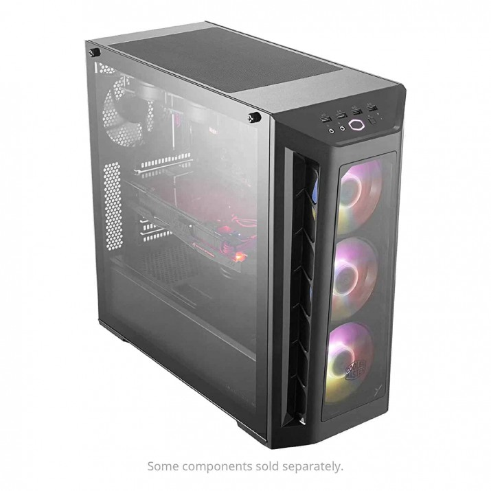Cooler Master MCB-B530P-KHNN-S01 MasterBox MB530P Comes with ARGB and 3 Glass Panels