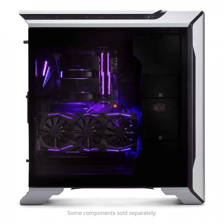 Cooler Master MasterCase SL600M with Aluminum Panels, a Vertical Layout, and Noise Reduction Technology