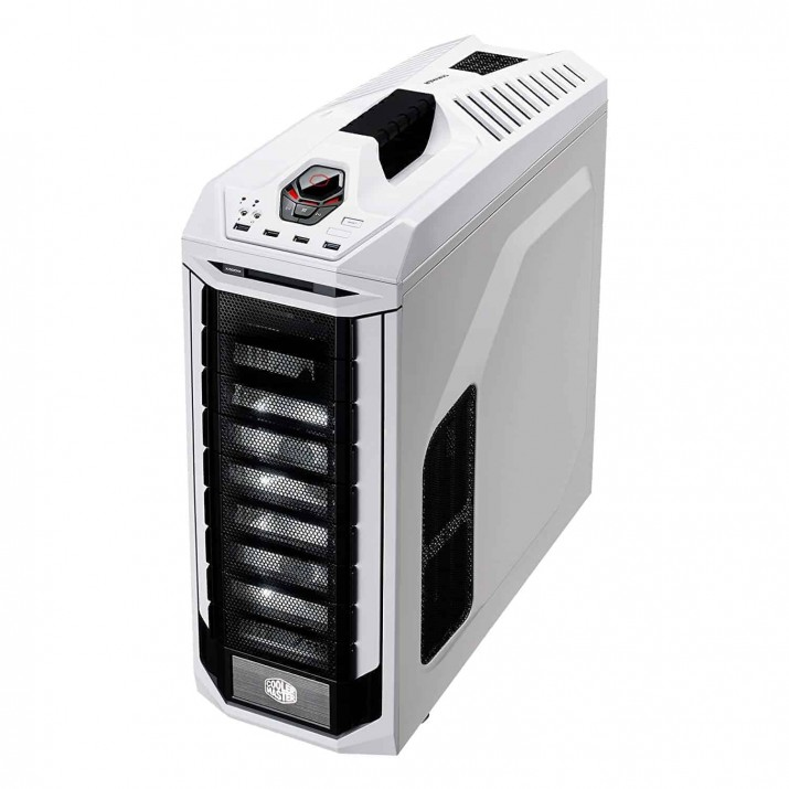 Cooler Master Stryker SE Full-Tower Case, Tempered Glass, VGA Vertical Display, Carrying Handle, LED, USB 3.0