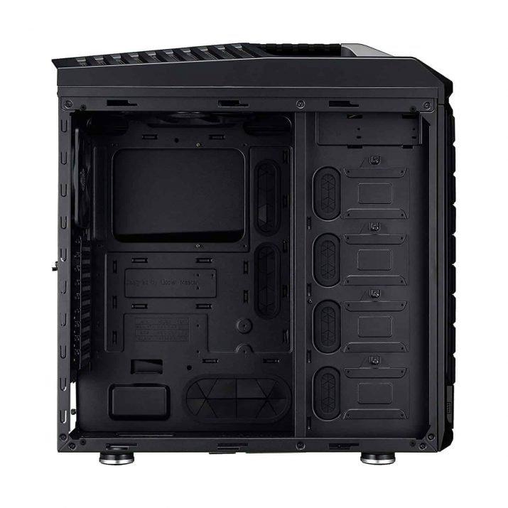 Cooler Master SGC-5000-KWN2 Trooper SE Full-Tower Case, Tempered Glass, VGA Vertical Display, Carrying Handle, LED, USB 3.0