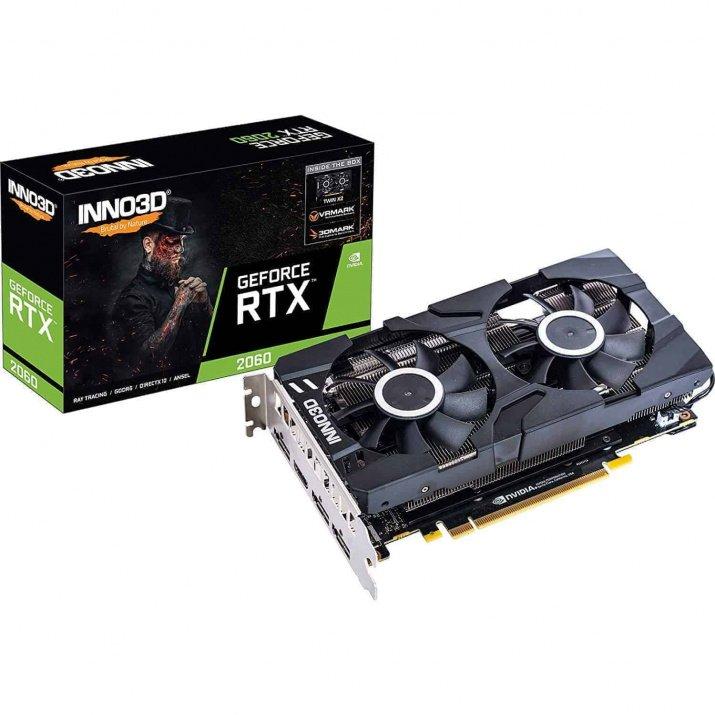 Inno3D Nvidia Gaming Geforce RTX 2060 Twin X2 6Gb Gddr6 Graphic Card
