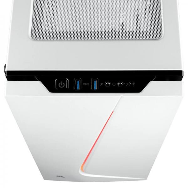 CORSAIR CARBIDE SERIES SPEC-06 RGB MID-TOWER ATX CASE, WHITE (CC-9011147-WW)