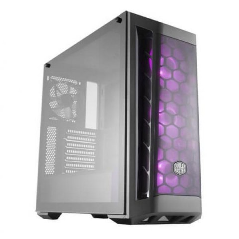 COOLER MASTER MasterBox MB511 RGB MCB-B511D-KGNN-RGB Black Steel / Plastic / Tempered Glass ATX Mid Tower Computer Case
