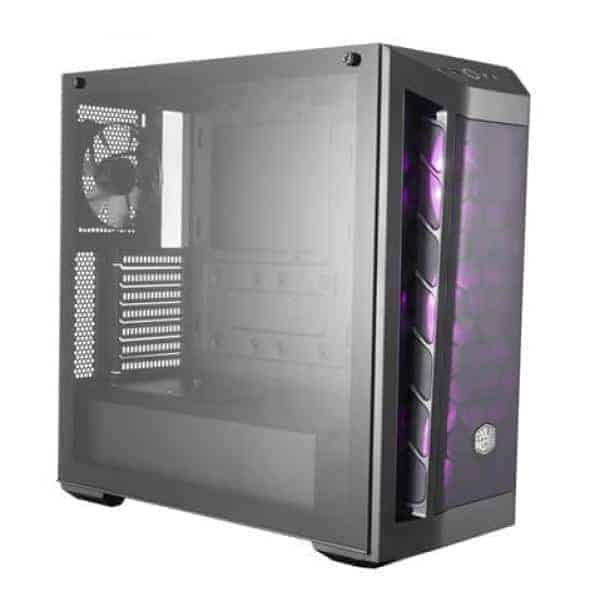 COOLER MASTER MasterBox MB511 RGB MCB-B511D-KGNN-RGB Black Steel / Plastic / Tempered Glass ATX Mid Tower Computer Case