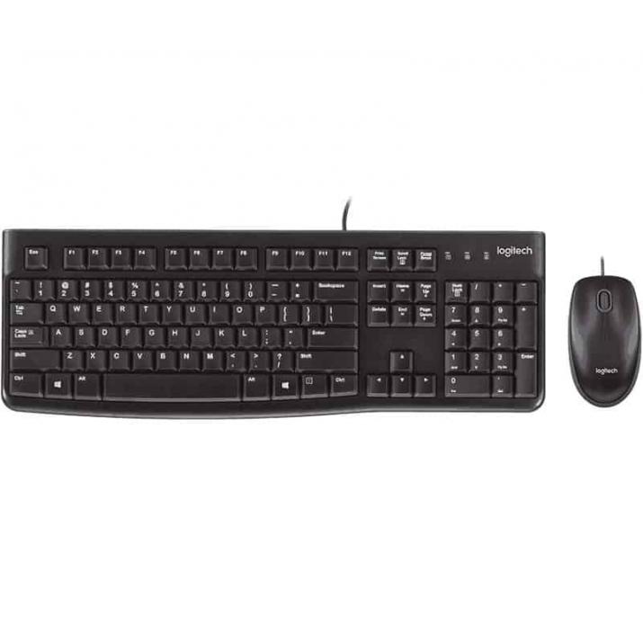 Logitech DESKTOP MK120 Wired simplicity Keyboard+Mouse Combo