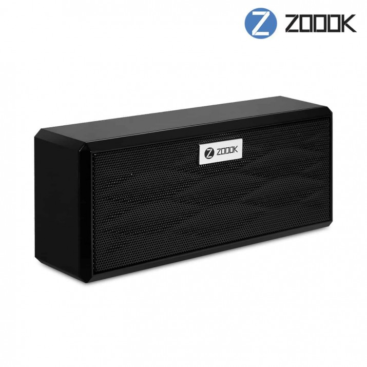 Zoook ZB-Box 6W Bluetooth Speaker with TF/Aux-in connectivity (Black)