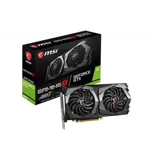 MSI GeForce GTX 1650 Gaming X 4G GDDR5 Gaming Graphic Card