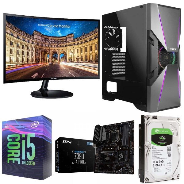 Intel i5 Unlocked Gaming & Video Editing PC