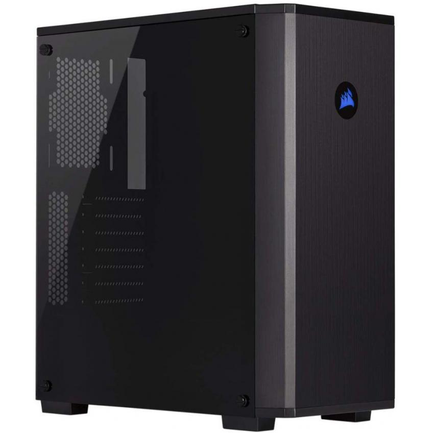 Corsair Carbide Series 175R RGB Tempered Glass Mid-Tower ATX Gaming Case with RGB Cooling Fan