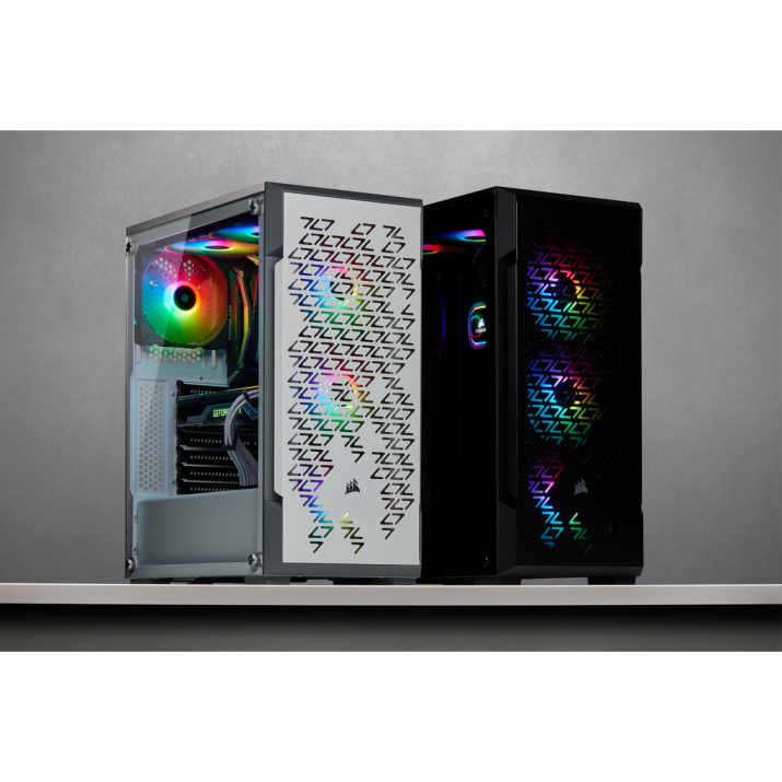 Corsair iCUE 220T RGB Airflow Tempered Glass Mid-Tower Smart Case