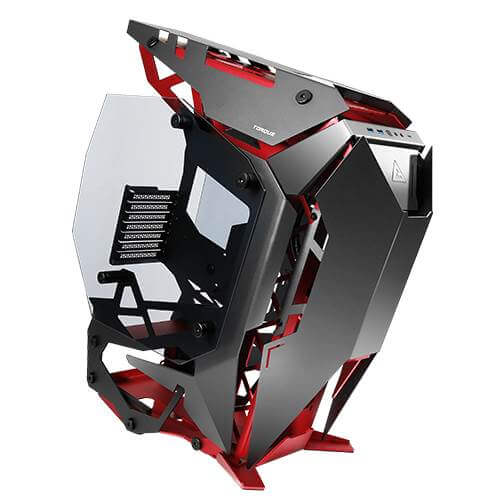 ANTEC TORQUE (E-ATX) MID TOWER CABINET - WITH DUAL SIDE TEMPERED GLASS SIDE PANEL (BLACK)